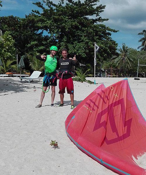 Kiteboarding Beginner Package Students