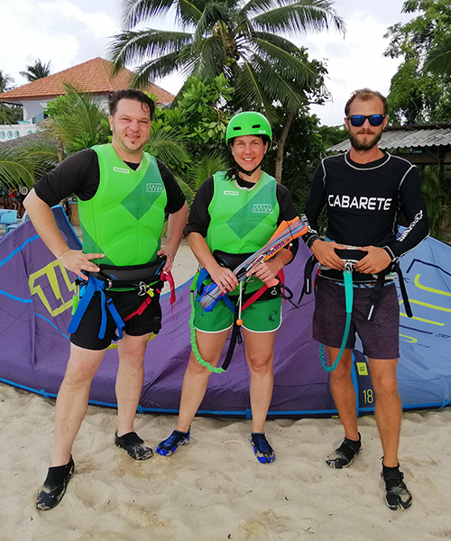Kiteboarding Discovery Course Instructor