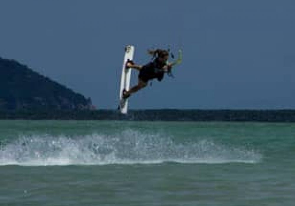 Kitesurfing school in Asia